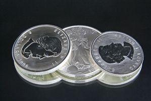 Hvordan lage din egen kolloidalt sølv med en mynt