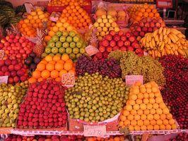 Liste over mat som er sunn