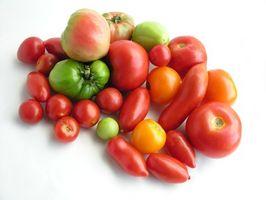Liste over matvarer med de høyeste nivåene av lykopen