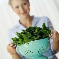 Er Spinat Sunt å spise en gang i uken?