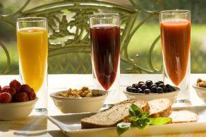 Typer frukt og grønnsaker til Juice