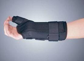 Hvordan behandle Tenosynovitt Med en Wrist Brace