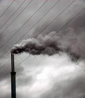Hva er de viktigste årsakene til luftforurensning?