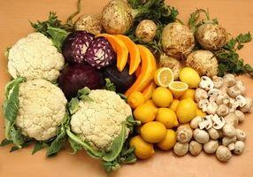 Effekter av mat grupper i ernæring