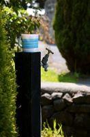 Effekten av høyt svovelinnhold i vann fra springen