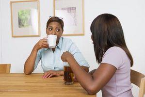 Den koffein i kaffe vs Pop