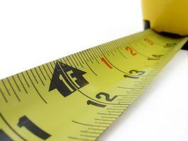 Hvordan måle høyden av et menneske