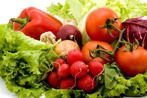 Grønnsaker som renser kroppen