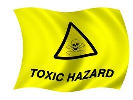 Hvordan er giftig avfall avhendes?