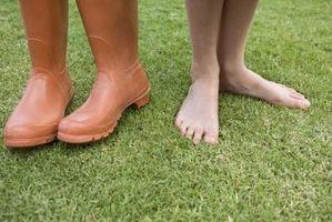 Symptomene på sko Being Too Wide
