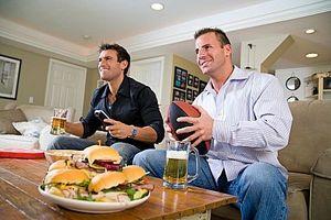 Hvordan spise sunt på en landskamp part