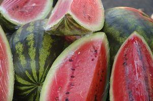 Hvordan spise vannmelon å kurere surhet