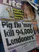 The Life of Swine Flu Virus på Overflater