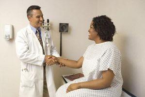 Tegn og symptomer på Dermoid ovarialcyster