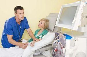 Slik feilsøker en dialysemaskinen