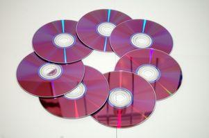 Hvordan lage etiketter for CDer