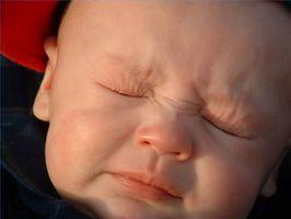 Symptomer på allergi hos spedbarn