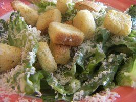 Ernæring av en Caesar salat