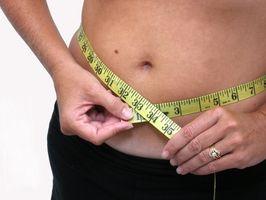 Diett tips for å redusere kroppsvekt i magen
