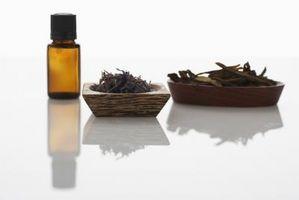 Eteriske oljer brukes for lymfeknuter