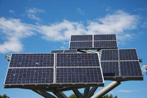 Hvilke kjemikalier som brukes til å lage solcellepaneler?