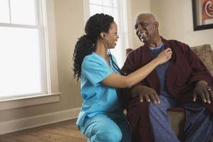 MS-symptomer hos eldre