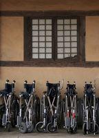 Hvordan transport rullestol Utstyr fra første etasje