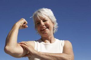Hva er den beste måten å miste vekt på overarmene