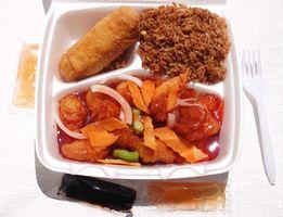 Hva er helserisikoen ved Mikrobølgebehandling Food i Styrofoam beholdere?