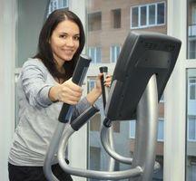Top Fat-Burning øvelser på elliptiske maskiner