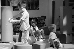 Aktiviteter å observere et barns fysiske utvikling