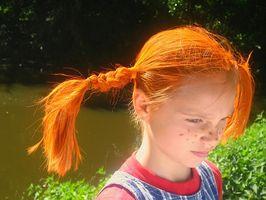 Må vitaminer for barn Fremme sunn hårvekst?