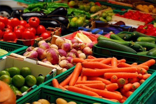 forstoppet av vegetarmat