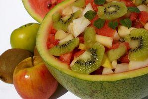 Typer frukt Snacks