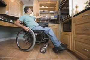 Forskjellige slags fysiske handicap
