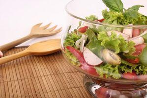 Hvordan spise bare frukt og grønnsaker for en uke