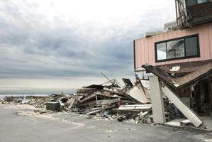 Hva er noen sikkerhets Tiltak før, under og etter en orkan?