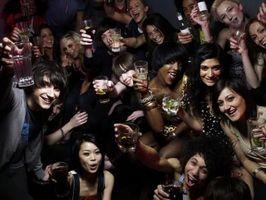 Virkningene av alkohol på en Teen Body