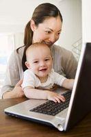 Hvordan holde en baby fra forkjølet mamma Har