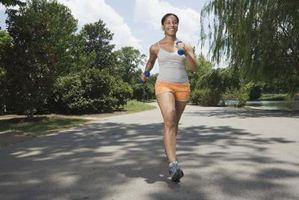 Hvor mange miles å gå en dag for vekttap