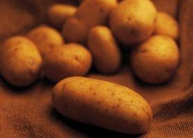 Hvordan Salvage Brown rå poteter