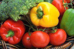 Hvordan spise fem porsjoner med frukt og grønnsaker om dagen