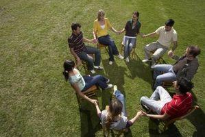 Ice Breakers for alkoholikere og narkomane i behandling