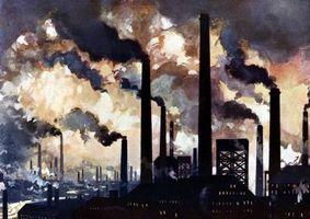 Fem ulike typer luftforurensning
