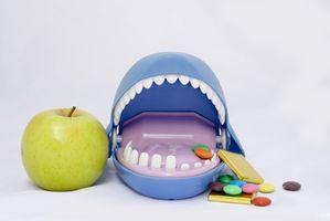 Kan Dental plakk bygge opp på drikkeglass?