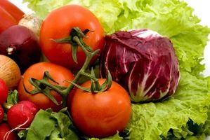 Dagligvare liste for en Raw Foods Diet