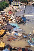 Hva er tre kilder til Ocean forurensnings?