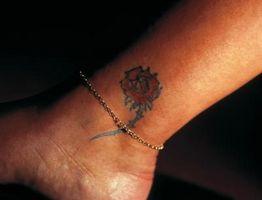 Slik Care for en tatovering på ankelen