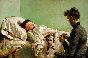 Feber og kramper i Children