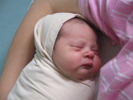 Infant Gass Tegn og symptomer